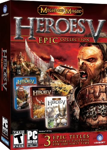 Heroes of might and magic V: Epic collection (Heroes Of Might And Magic 3 Complete)