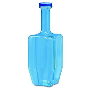 San Jamar RCU64 Rapi-Kool Plastic Cold Paddle, 64 oz., Blue