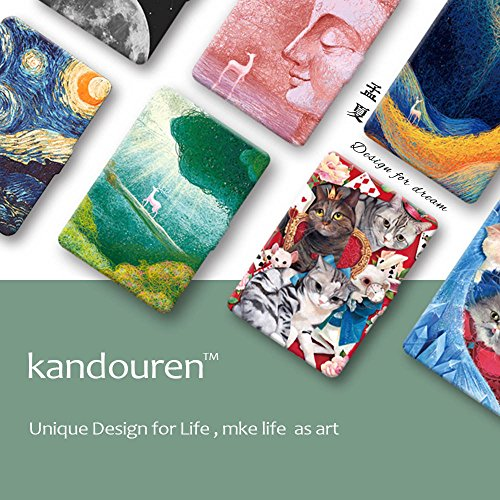 Kindle Paperwhite Book Cover Art ~ Kandouren case cover for amazon kindle paperwhite blue