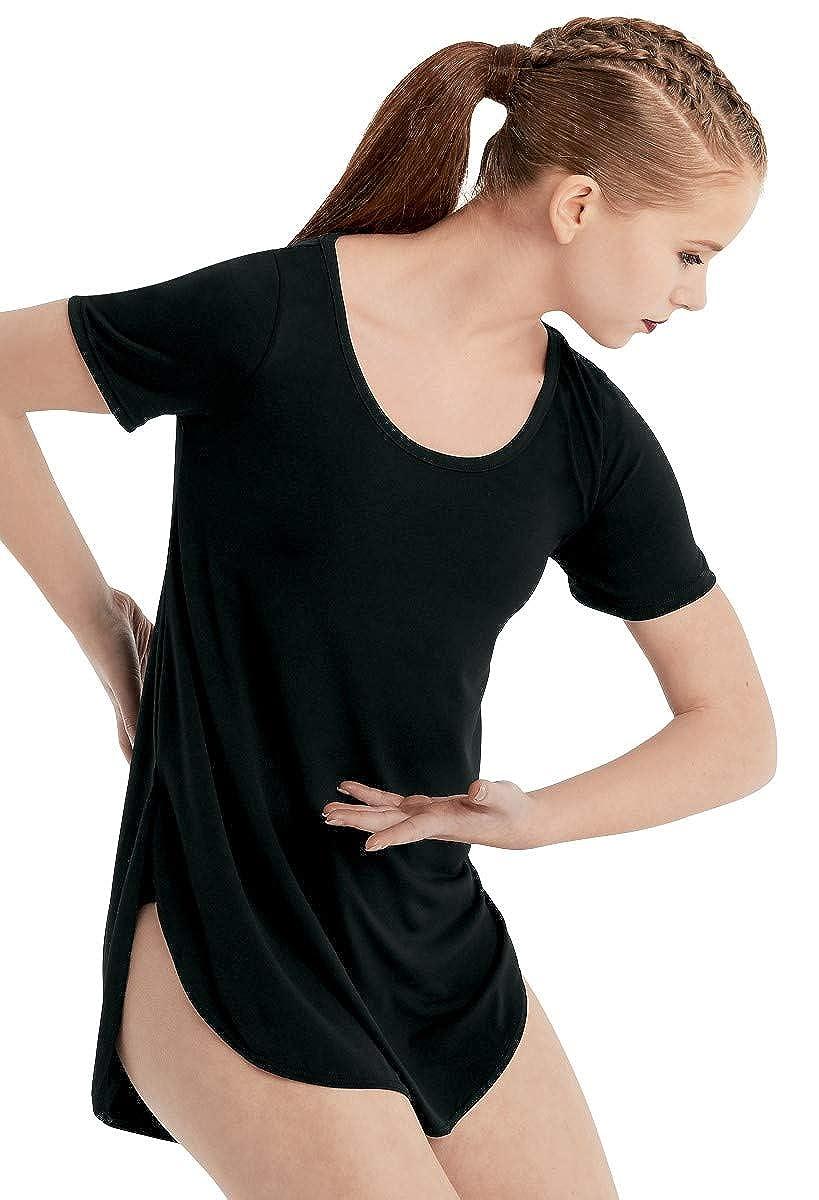 Balera Womens Oversized Favorite Tee Shirt Dress for Dance