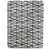 No Zebra Crossing Fitted Sheet: King Luxury Microfiber, Soft, Breathable