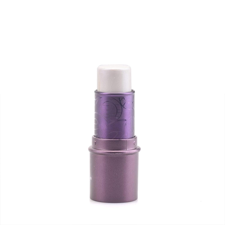 Mallofusa Face Facial Makeup Highlighter Stick Cosmetic Highlighting Waterproof Light Sharpening Crayon Stick Brightener 0.2oz White