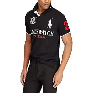 Ralph Lauren - Polo - para Hombre Polo Black X-Small: Amazon.es ...