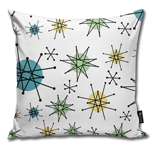 Zara-Decor Atomic Starburst Franciscan Mid-Century Funda de ...