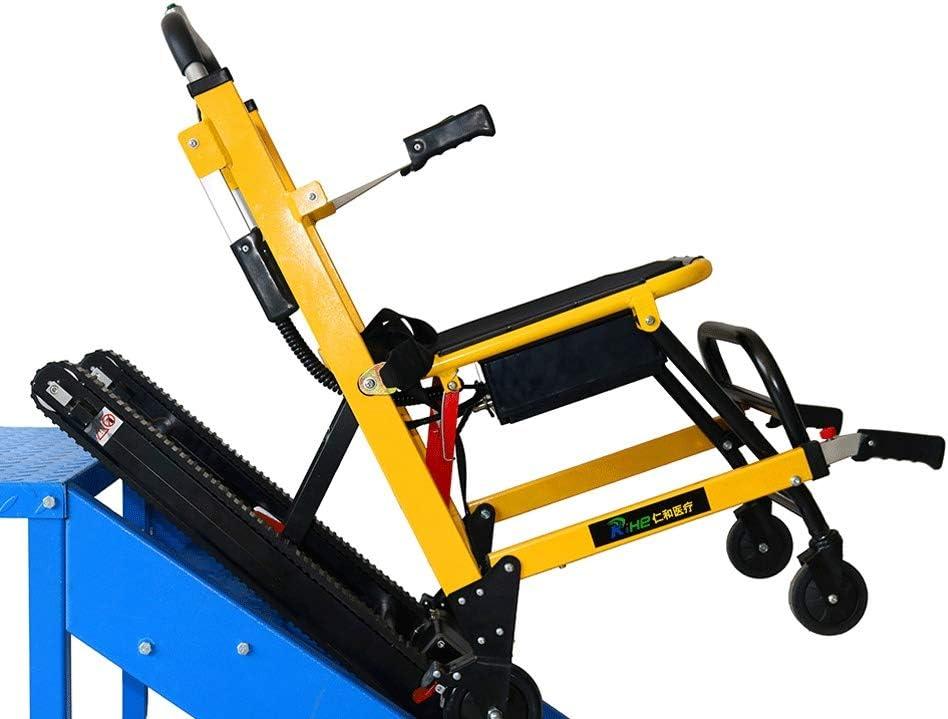 SME Stair Chair Stair Elettrico Arrampicata Sedia a rotelle Peso Salire Le Scale di Emergenza Sedia montascale Sedia Pieghevole Crawler Chair Climbing