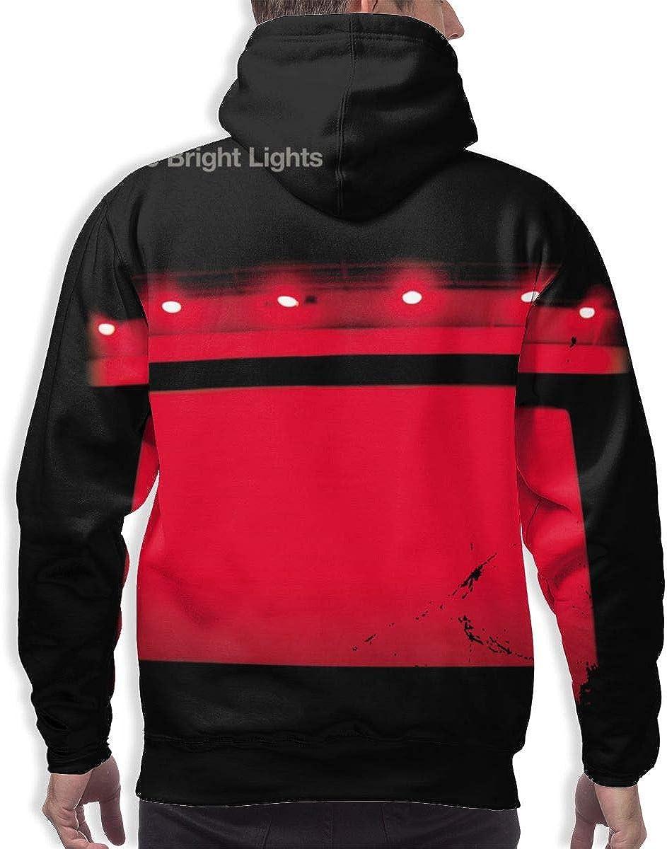 LEOUMAOYE Interpol Turn On The Bright Lights Mens 3D All Print Hooded Sweatshirt