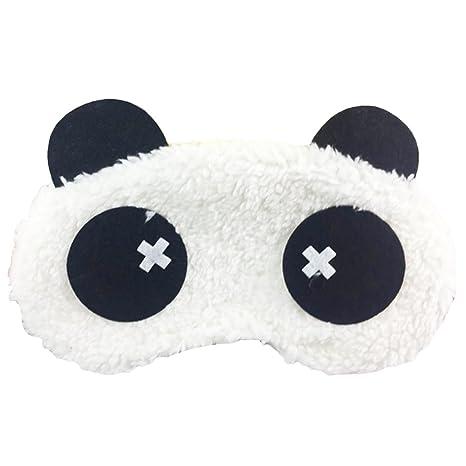 Luwu-Store Máscara para los Ojos Máscara para Dormir Máscara para los Ojos Fluffy Cute