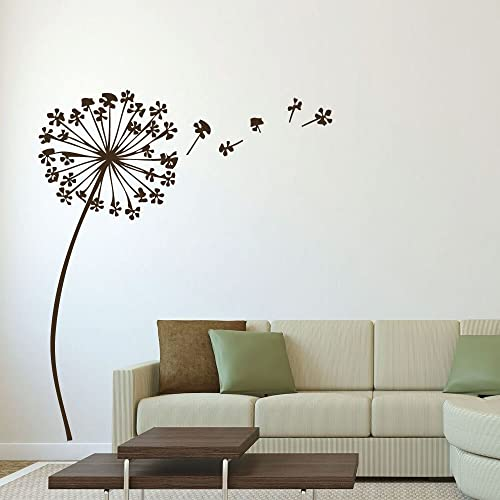 Amazon Com Dandelion Wall Decal With Seeds Flower Design Vinyl