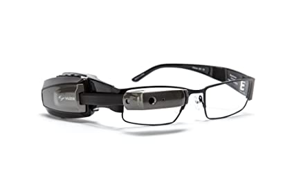 c3c6488206f1 Amazon.com  Vuzix M100 Smart Glasses (Grey)  Cell Phones   Accessories