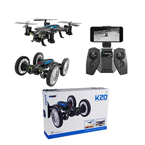 Air-Ground RC Drone 6-Axis Gyro Flying Car 2.4 GHz Land/Sky 2 ...