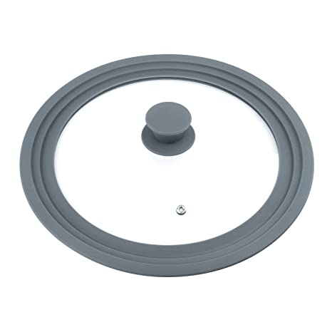 """Lovebay Universal vidrio templado con ventilación tapa Compatible con diámetro de 8,7 """""""