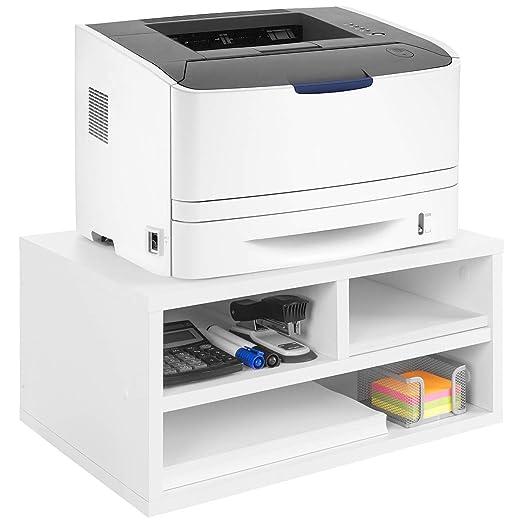COMIFORT Soporte para Impresora, Gabinete para Impresora, Color ...