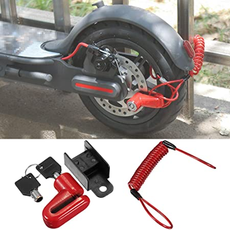 Anti-Theft Safety Lock for Scooter for Xiaomi Pro Electric Scooter Accessories Jinclonder Disc Brake Lock