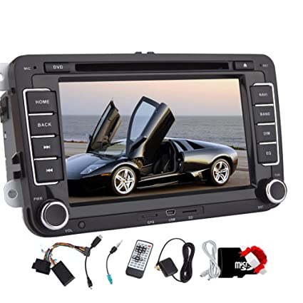 Amazon com: New 7 inch 2 din Car DVD GPS Stereo for
