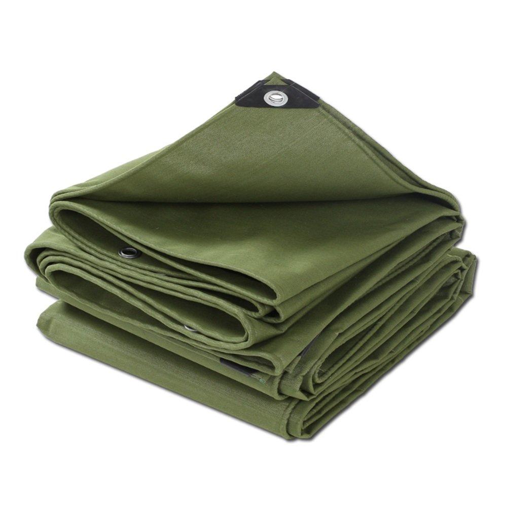 YNN 厚い防水シート防水布防水日保護天蓋布日陰工業用防水シート0.72mm、-600 G/M²、17サイズオプション 防水シート (色 : アーミーグリーン, サイズ さいず : 3x 4m) B07FPN6YDM 3x 4m|アーミーグリーン アーミーグリーン 3x 4m