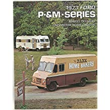 1973 Ford P&M Series Parcel Delivery Van Truck Motorhome Chassis Brochure