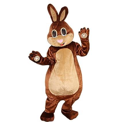 Amazon.com: café conejo disfraz de dibujos animados imagen ...