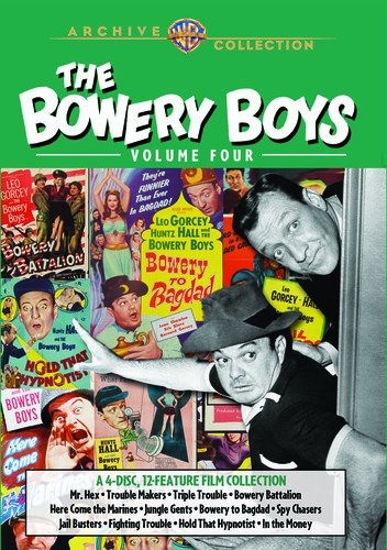 - The Bowery Boys Collection: Vol 4 DVD-R