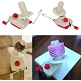 Windaze Portable Hand Operated Manual Wool Winder Holder for Swift Yarn Fiber String Ball (Small)