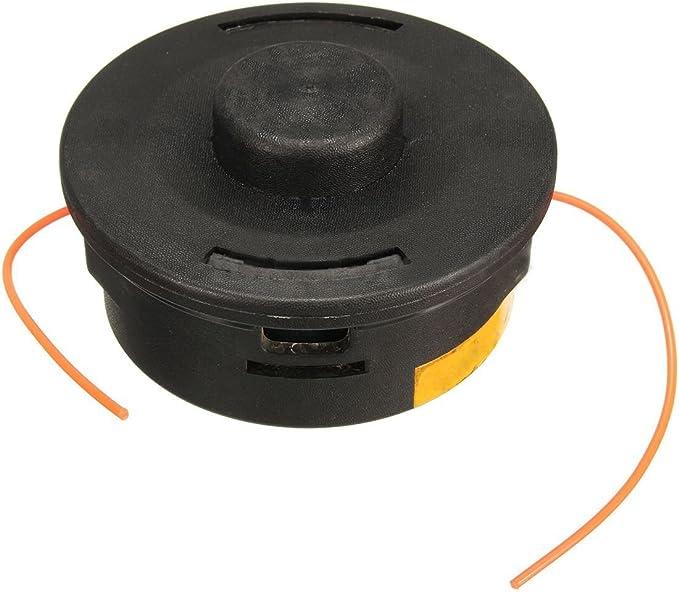 Recortadora cabezal - SODIAL(R)# 4002-710-2191 recortadora cabezal para Stihl FS40 FS88 FS 90R FS100 FS100R FS106 FS108 Negro: Amazon.es: Jardín