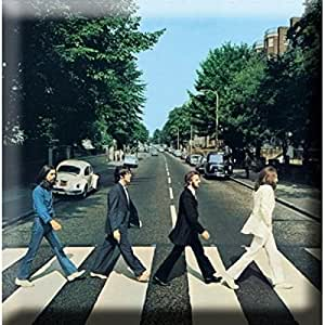 The Beatles Abbey Road de caza 76 mm x 76 mm imán para nevera