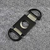 Cutter - 300pcs Lots Very Nice Pocket Stainless Steel Cigar Cutter Double Blades Fast Shipping Fedex Ups - Ring Green Gold Xcalius Spryzen Fafnir Drain Free Pieces Heavy Best Spinners Party