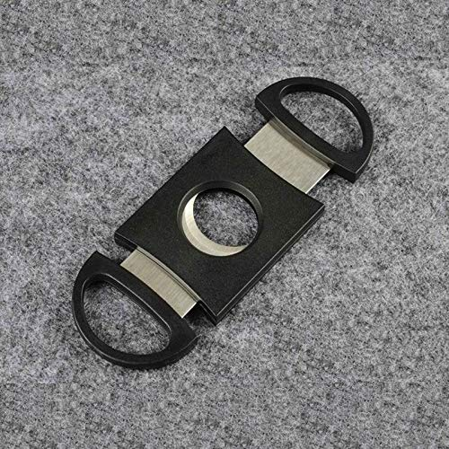 Cutter - 300pcs Lots Very Nice Pocket Stainless Steel Cigar Cutter Double Blades Fast Shipping Fedex Ups - Ring Green Gold Xcalius Spryzen Fafnir Drain Free Pieces Heavy Best Spinners Party by rivalO (Image #6)