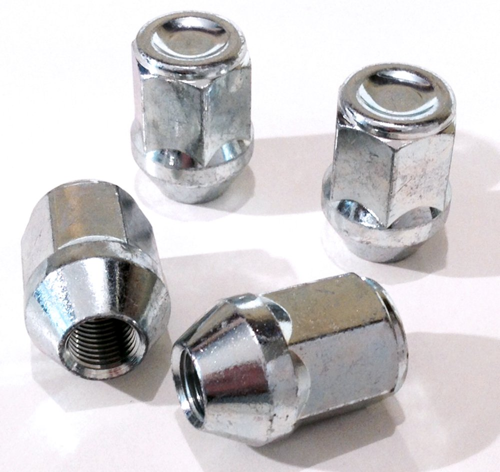 M14x2.0 nuts for alloy wheels taper seat 21mm hex 5