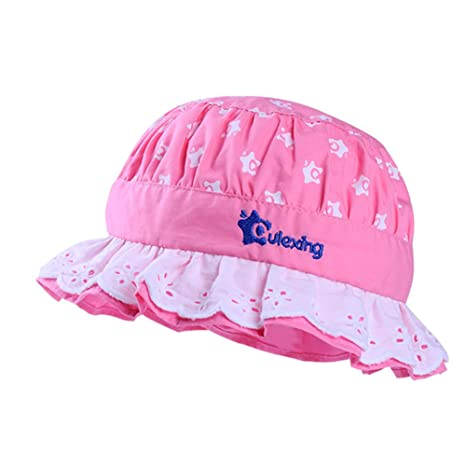 2fa5776545441 QLEX ベビー用ハット 赤ちゃんキャップ 1-2歳 男の子 女の子 漁夫帽 キャップ 太陽