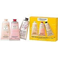 LOCCITANE Hand Cream 3 x 75ML Neroli & Orchidee + Rose + Cherry Blossom - 3253581595114…