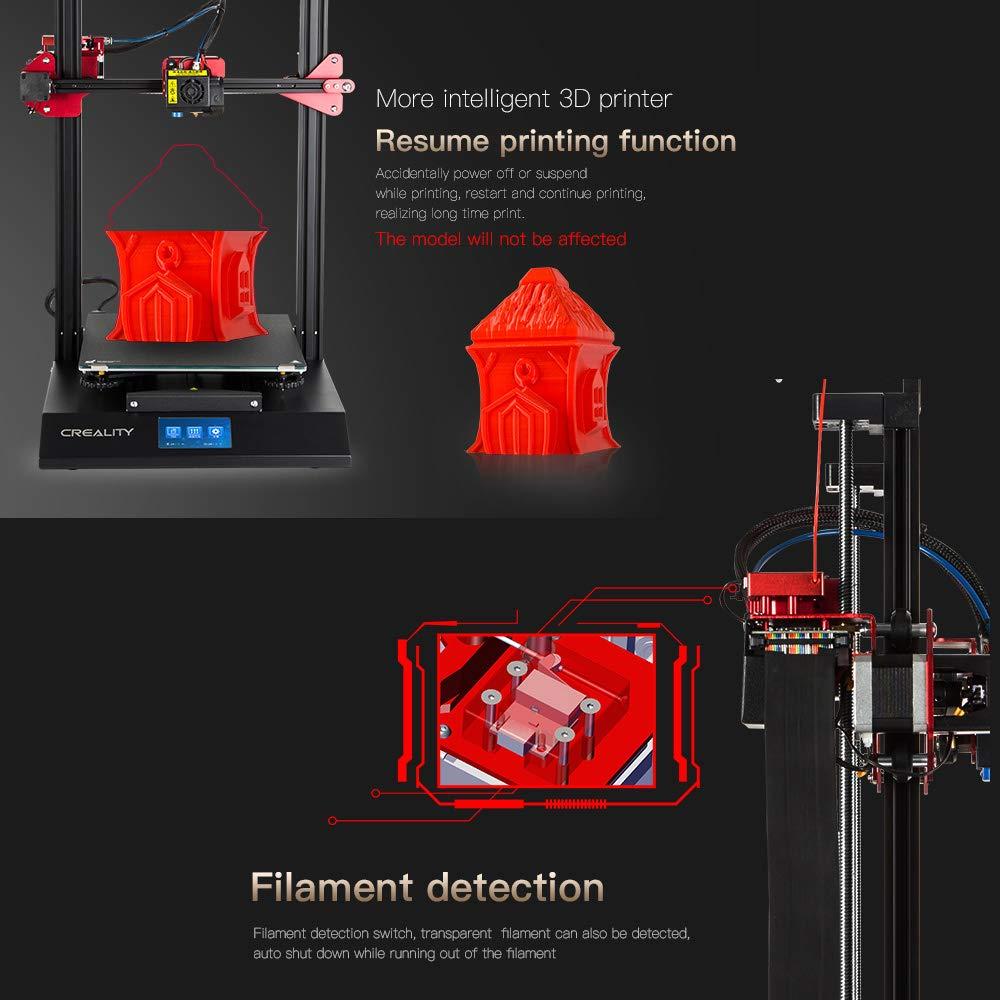 Creality CR-10S - Impresora 3D Pro mejorada, nivelación automática ...