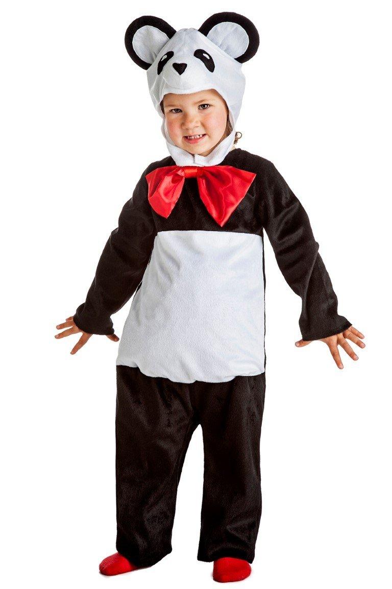Disfraz de Oso Panda Infantil (5-6 años)