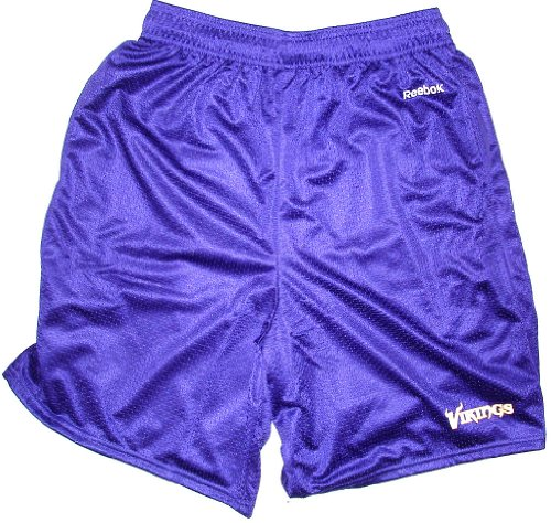 Men's Purple Minnesota Vikings Johnson Mesh Shorts (Small (Minnesota Vikings Shorts)