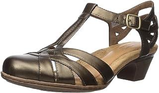 Rockport Chaussures Aubrey-Ch pour Femmes, 38.5 EU, Bronze CBD12BZ