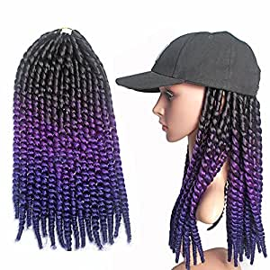 Amazon.com : Emmet Synthetic Twist Crochet Braids Hair 24 100g/Bundle ...