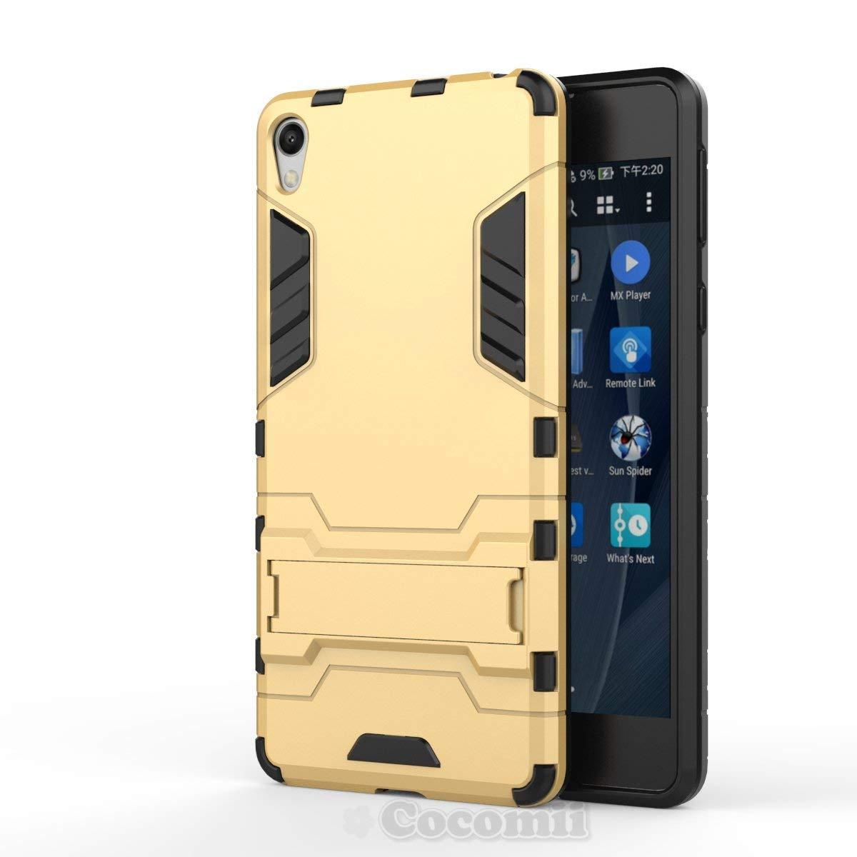 Cocomii Iron Man Armor Sony Xperia E5 Funda [Robusto] Superior Táctico Sujeción Soporte Antichoque Caja [Militar Defensor] Cuerpo Completo Sólido Case ...