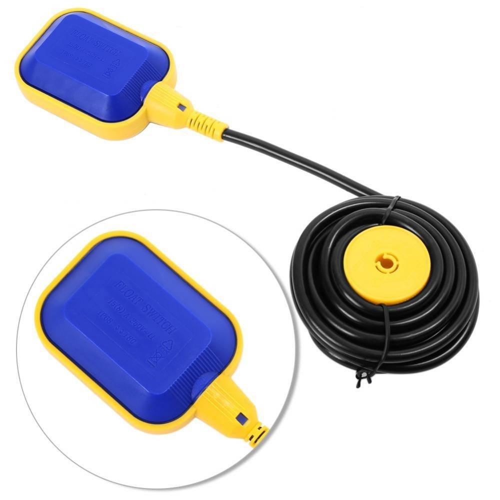 5M / 16,4 pies Interruptor de Flotador de Cable para el Tanque de Agua de la Bomba de Aguas Residuales del Sistema Séptico: Amazon.es: Bricolaje y ...