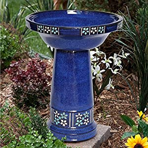 61SkWePXKqL. SS300  - Smart Solar Ceramic Solar Bird Bath