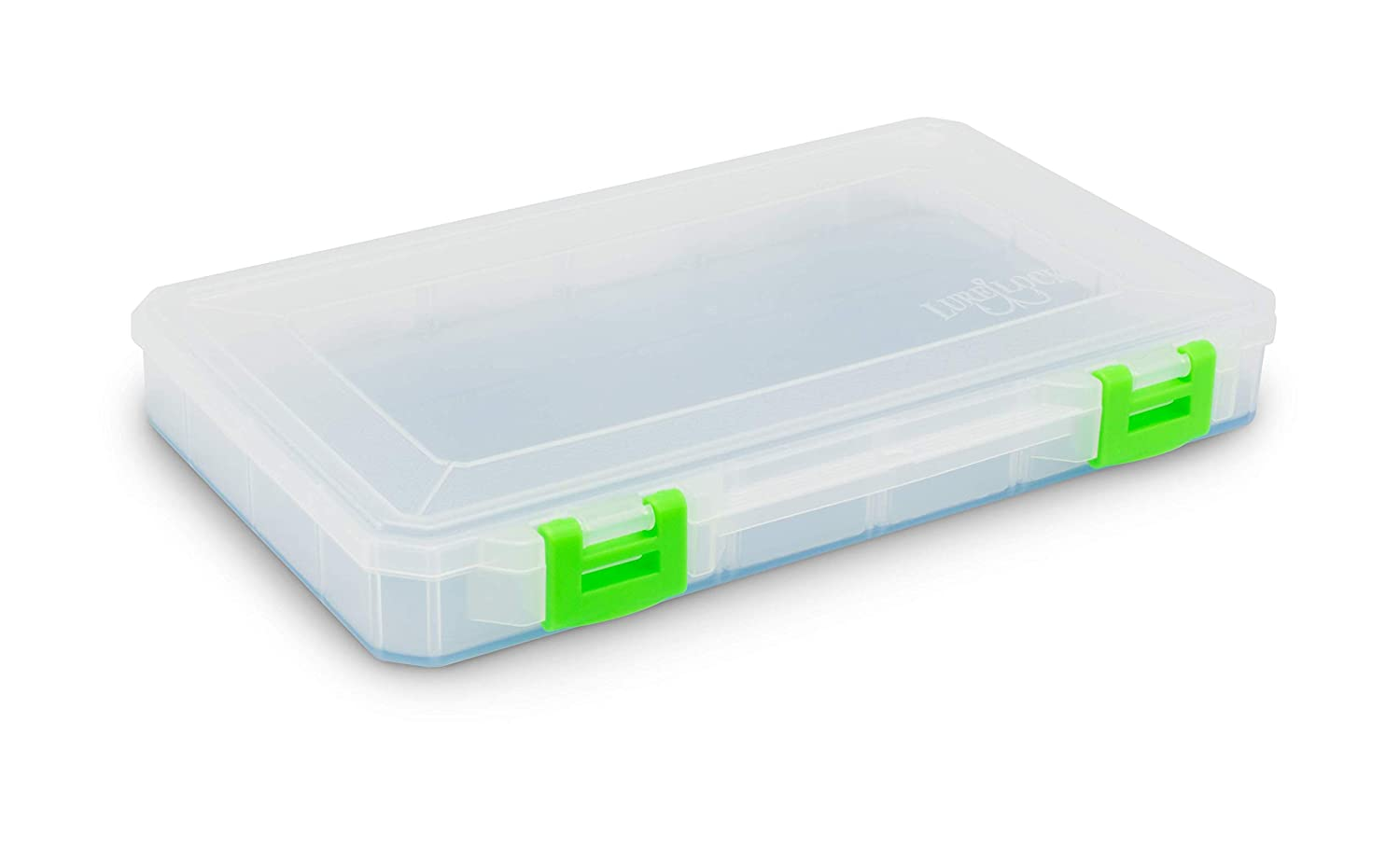 4-24 Compartment Lure Lock Tacklebox Large w//TakLogic Technology Liner 9 H x 15 W x 1-7//8D