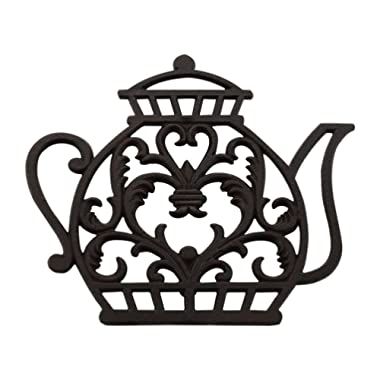 Tea Pot Cast Iron Trivet Old Fashioned, Home Decorative Gift, TD001 Bestplus