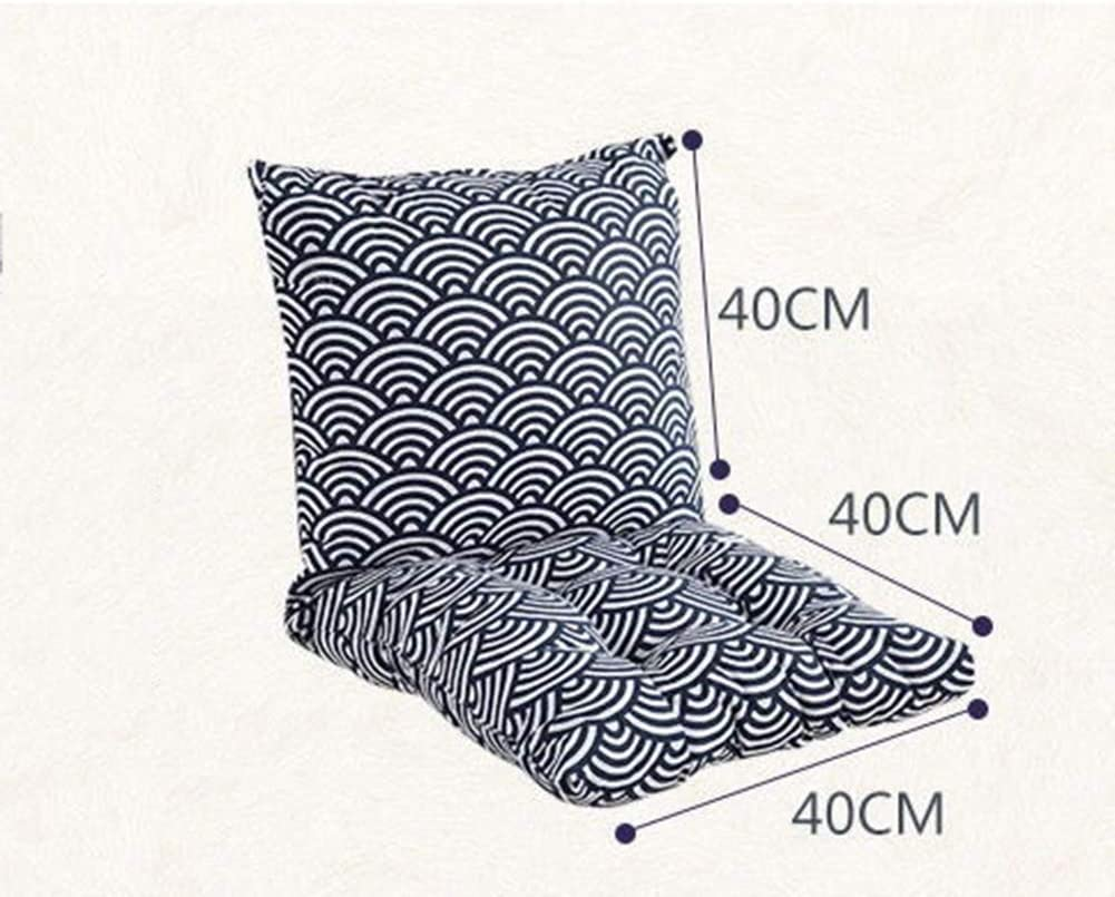 sin sillas 80 x 40 x 6,5 cm Coj/ín para Silla de jard/ín Almohadilla de Asiento y Respaldo de Espuma Suave KongEU Desmontable con Cremallera Asiento de Oficina para sillas de Respaldo bajo