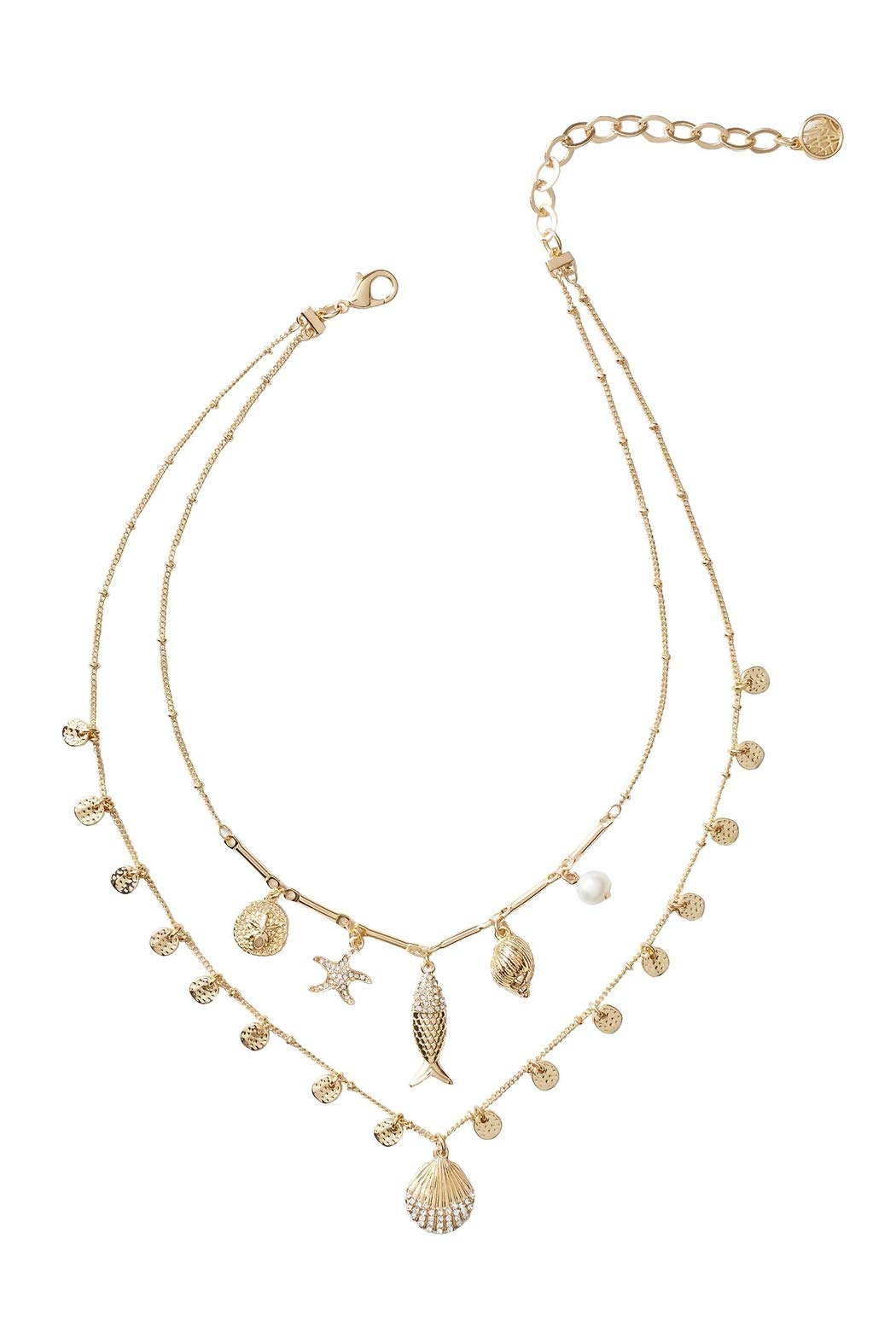 Lilly Pulitzer Sofishticated Necklace - Gold Strands
