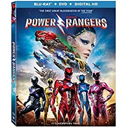 Saban's Power Rangers (Blu-ray) T-Rex Bundle