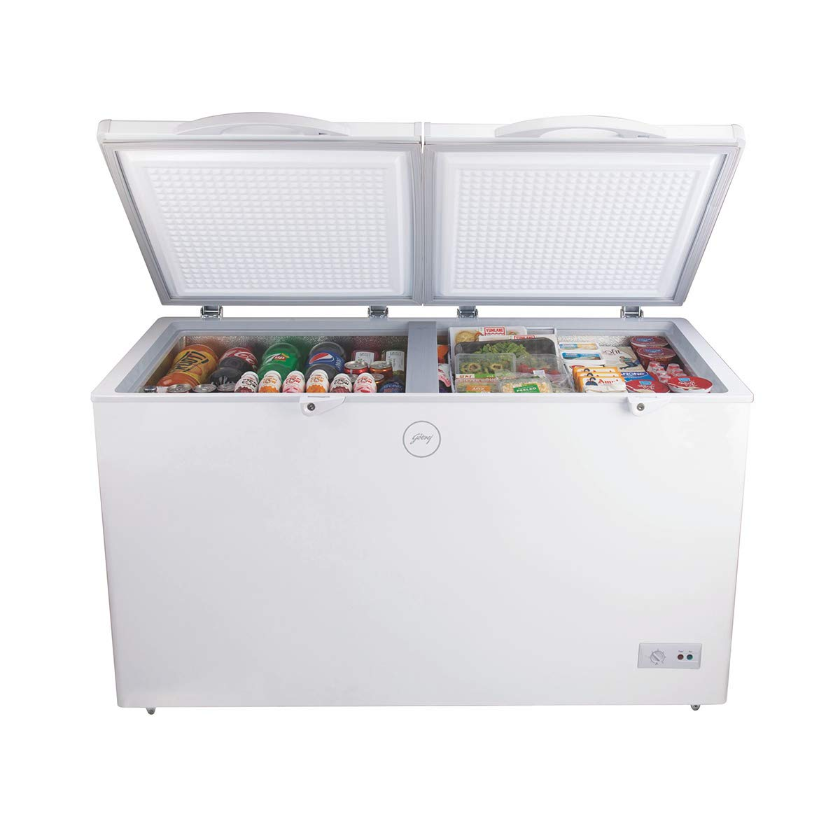 Godrej 400 L Deep Freezer (White).