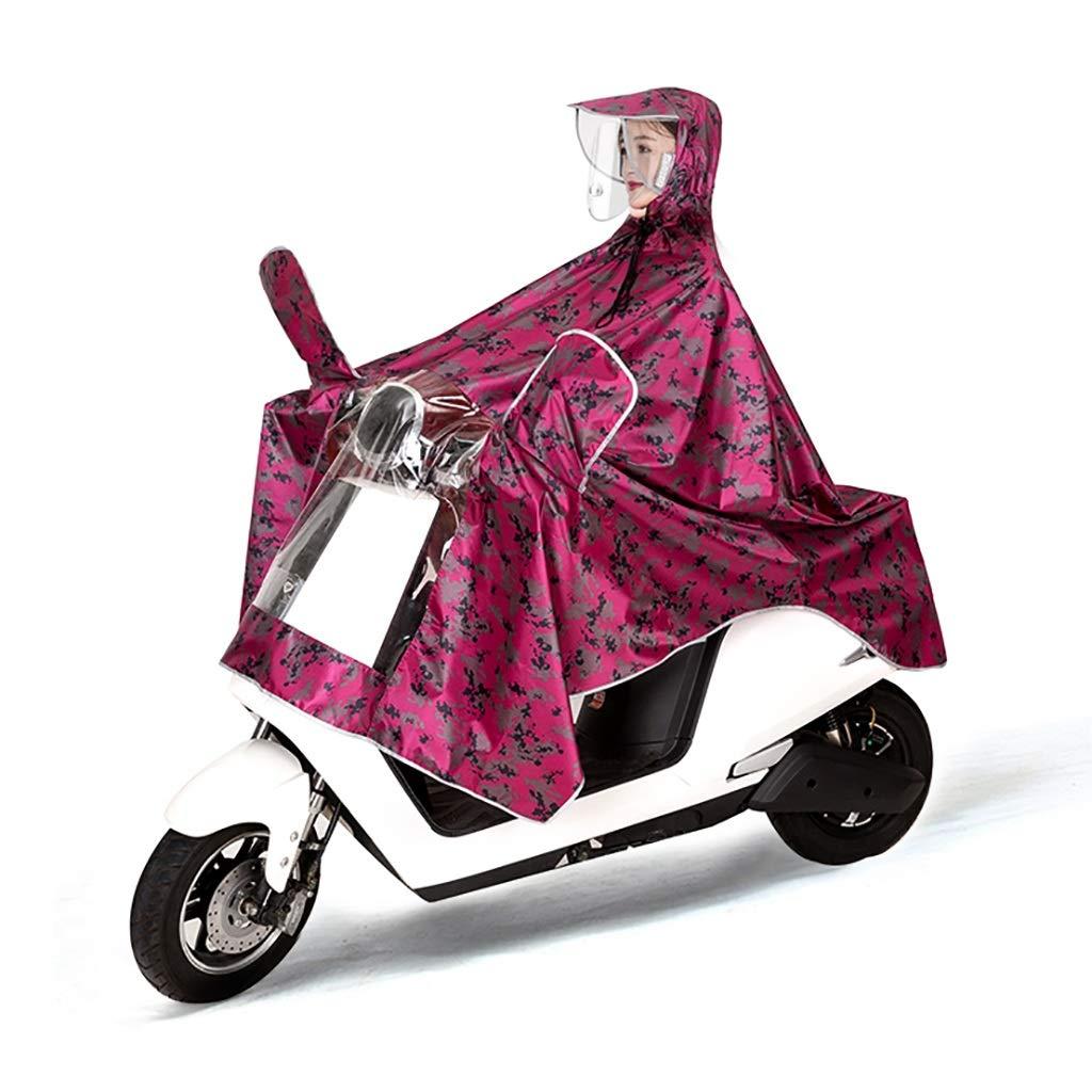 C  Hyuyi Imperméable de Moto électrique pour Hommes et Femmes pour AugHommester Le Poncho imperméable Adulte (Couleur   B)