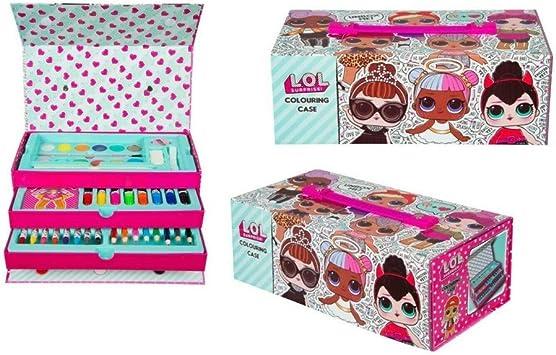 Lol Sorprise - Caja de lápices de colores (26 x 13,5 x 9,5 cm ...