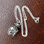 UMBRELLALABORATORY Steampunk FIRE Necklace - Pendant Glow Locket - Great Gifts for Teen Girls, Mother, Father, Little… 8