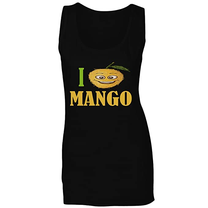 5129c8f94ba47 INNOGLEN I Love Mango Fresh Fruit Vegetable Ladies Tank Top a337ft: Amazon.ca:  Clothing & Accessories