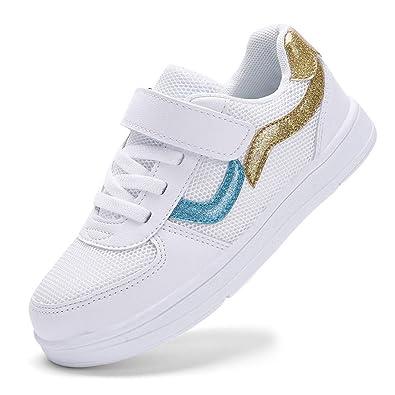 Amazon.com: LEODI Zapatos para Niña Zapatillas de Niña ...