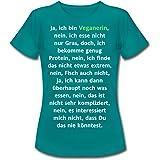 Spreadshirt Ja ich bin Veganerin Cooler Spruch Frauen T-Shirt